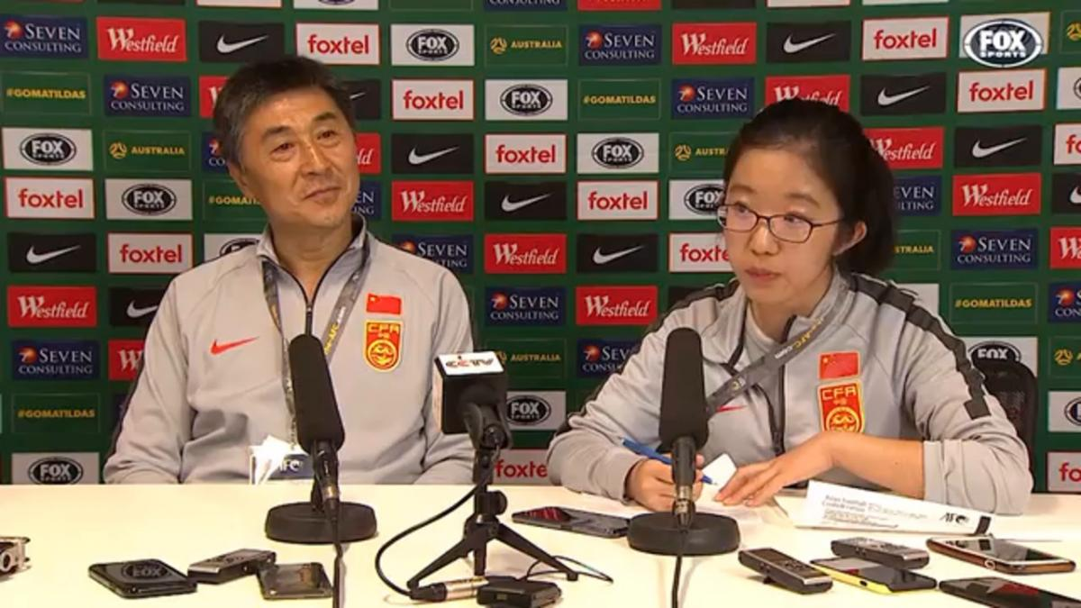 Xuiquan: We didn't seize the opportunity | Press Conference | Olympic Qualifier