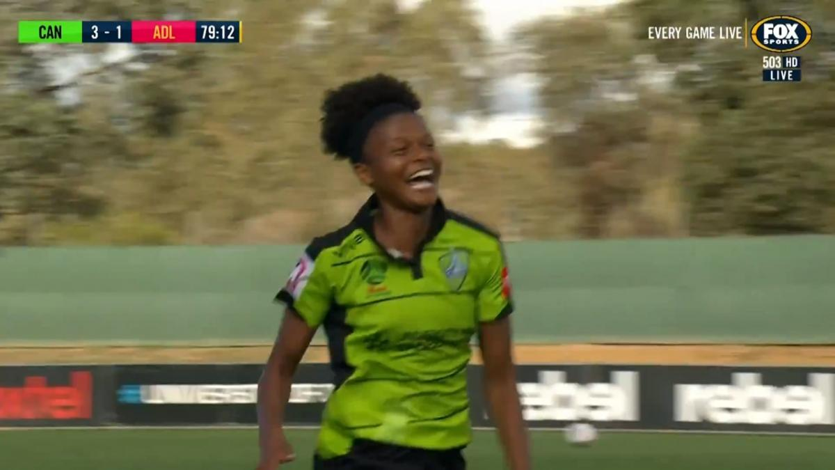 GOAL: Charley - Canberra put the nail in the coffin