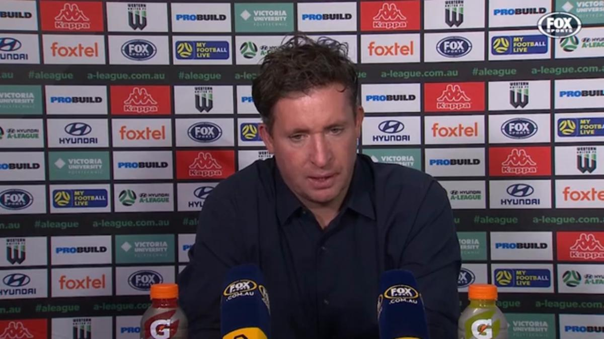 Fowler: Our football is doing the talking | Press Conference | Hyundai A-League