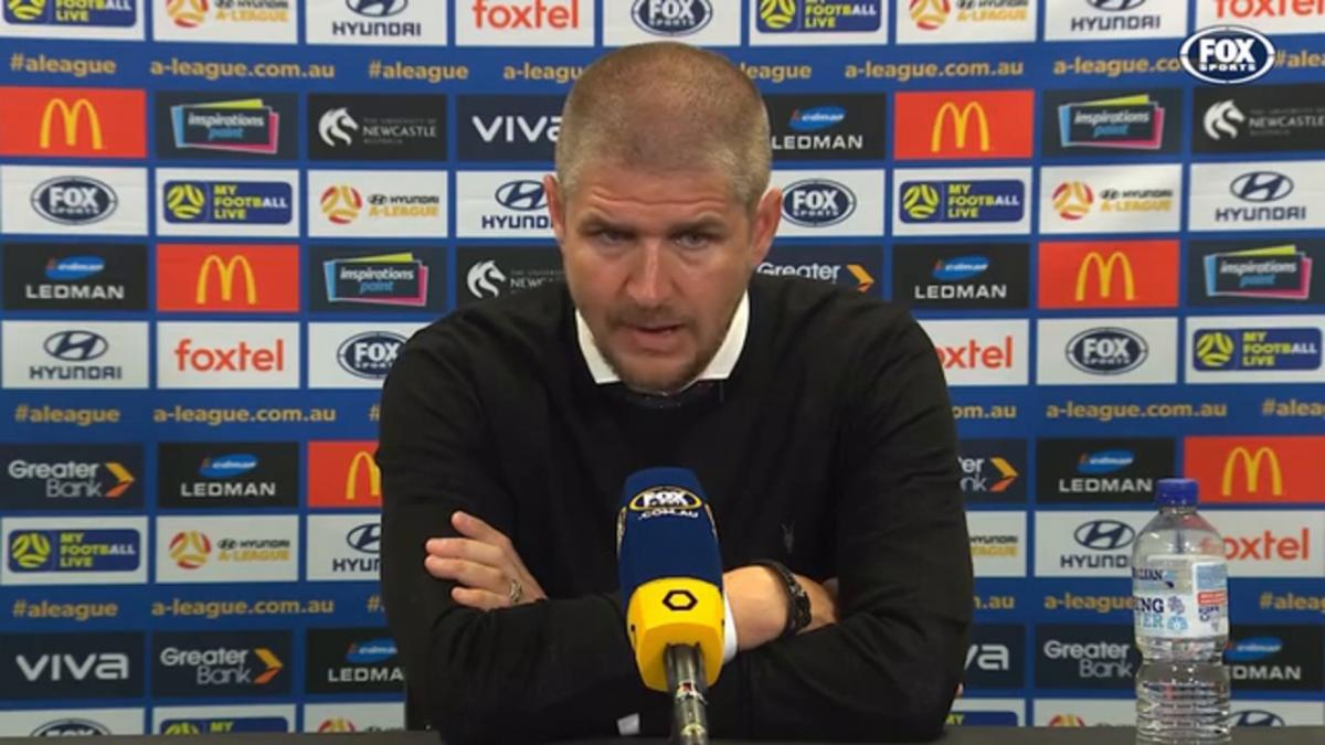 Robinson: Little moments in the game cost us | Press Conference | Hyundai A-League