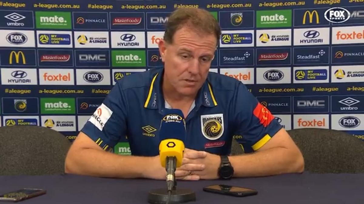 Stajcic: First time I saw a blocker get called offside | Press Conference | Hyundai A-League