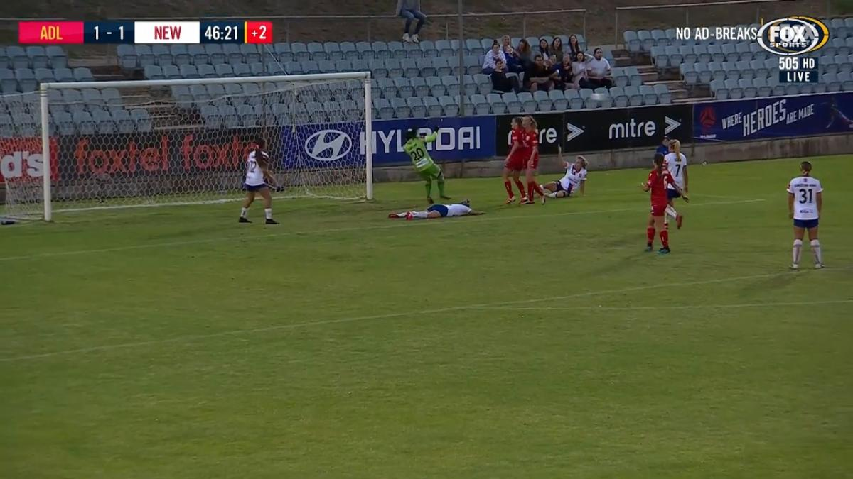 SAVE: Coelho - Saves goal but doesn't save face