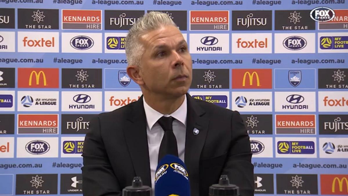 Corica: We showed a lot of intent to win | Press Conference | Hyundai A-League