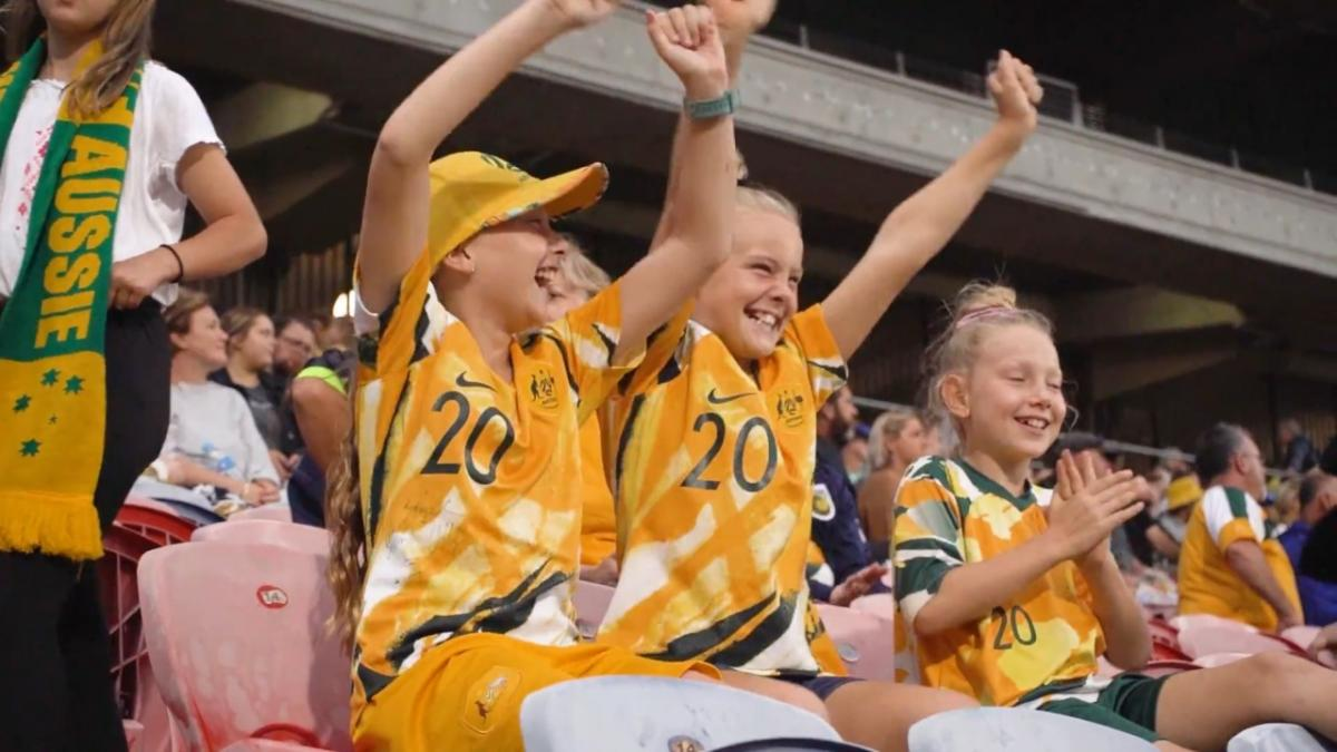 Newcastle's obsession with the Matildas:  Aussies put on a show against Vietnam | Tokyo 2020 Qualifiers