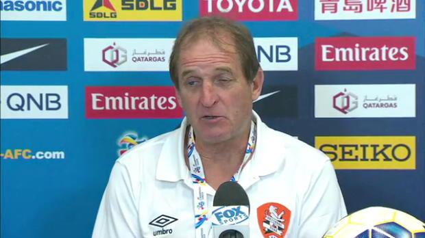 Brisbane Roar press conference