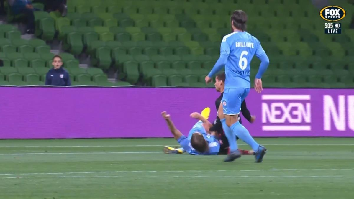 GOAL: Russell - Maiden A-League goal in style