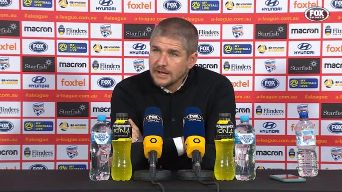 Robinson: There is a belief within | Press Conference | Hyundai A-League
