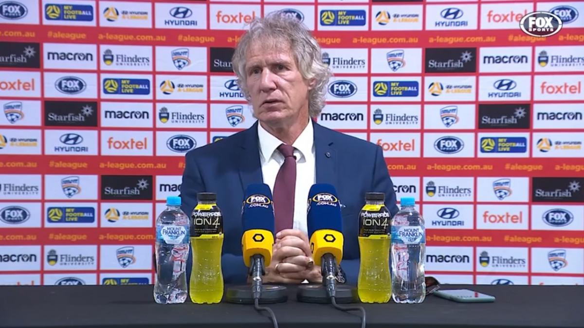 Verbeek: I can only praise some of my boys | Press Conference | Hyundai A-League