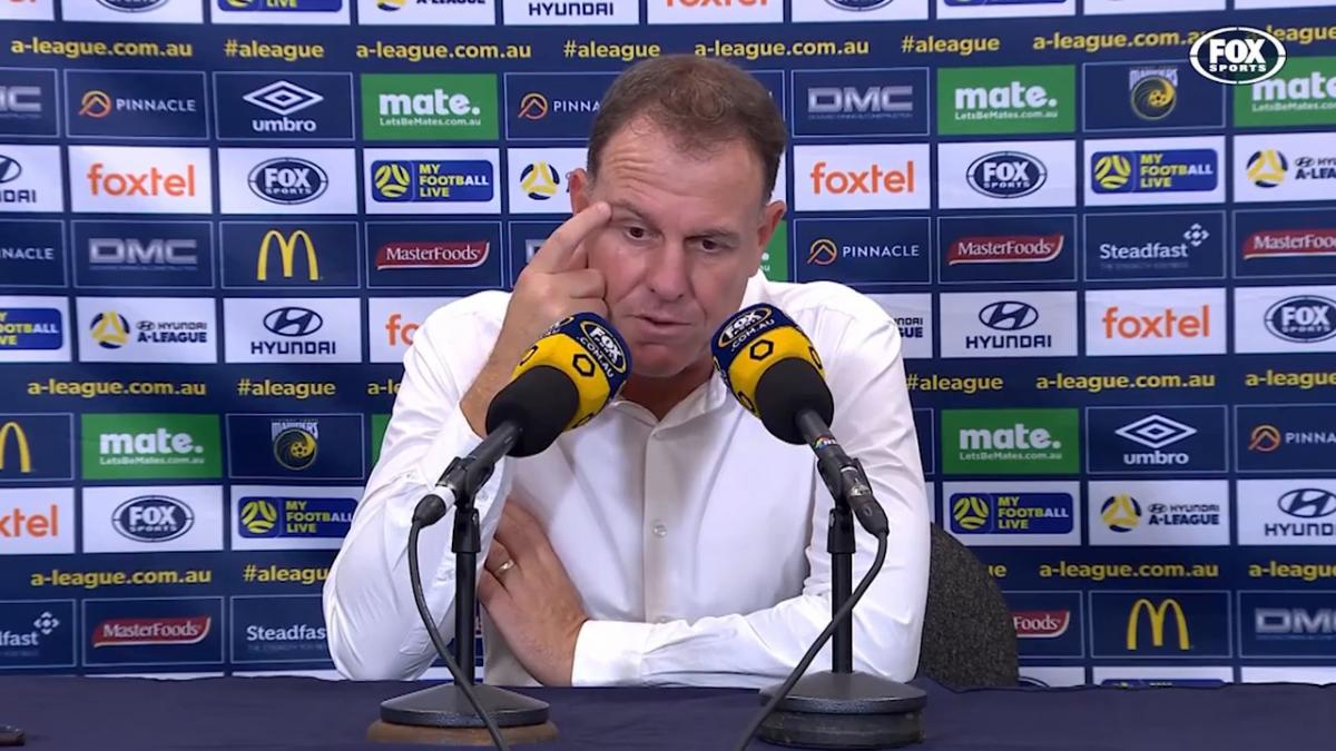 Stajcic: We let them back in too quickly | Press Conference | Hyundai A-League
