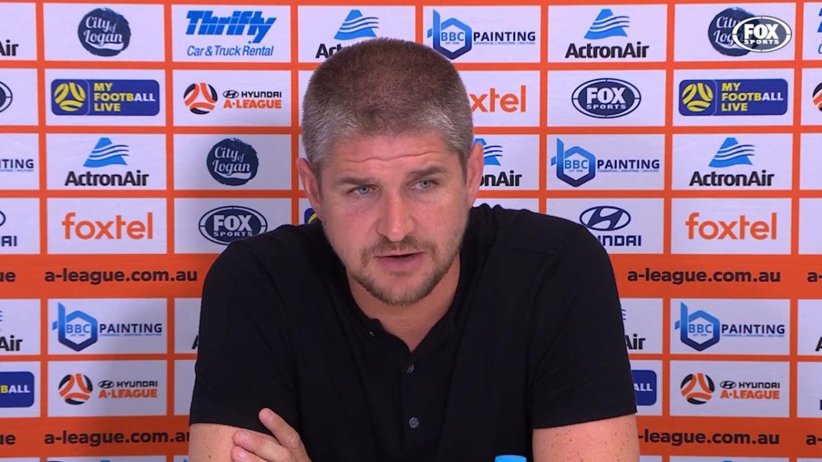 Robinson: Roy doesn't have to prove me anything | Press Conference | Hyundai A-League