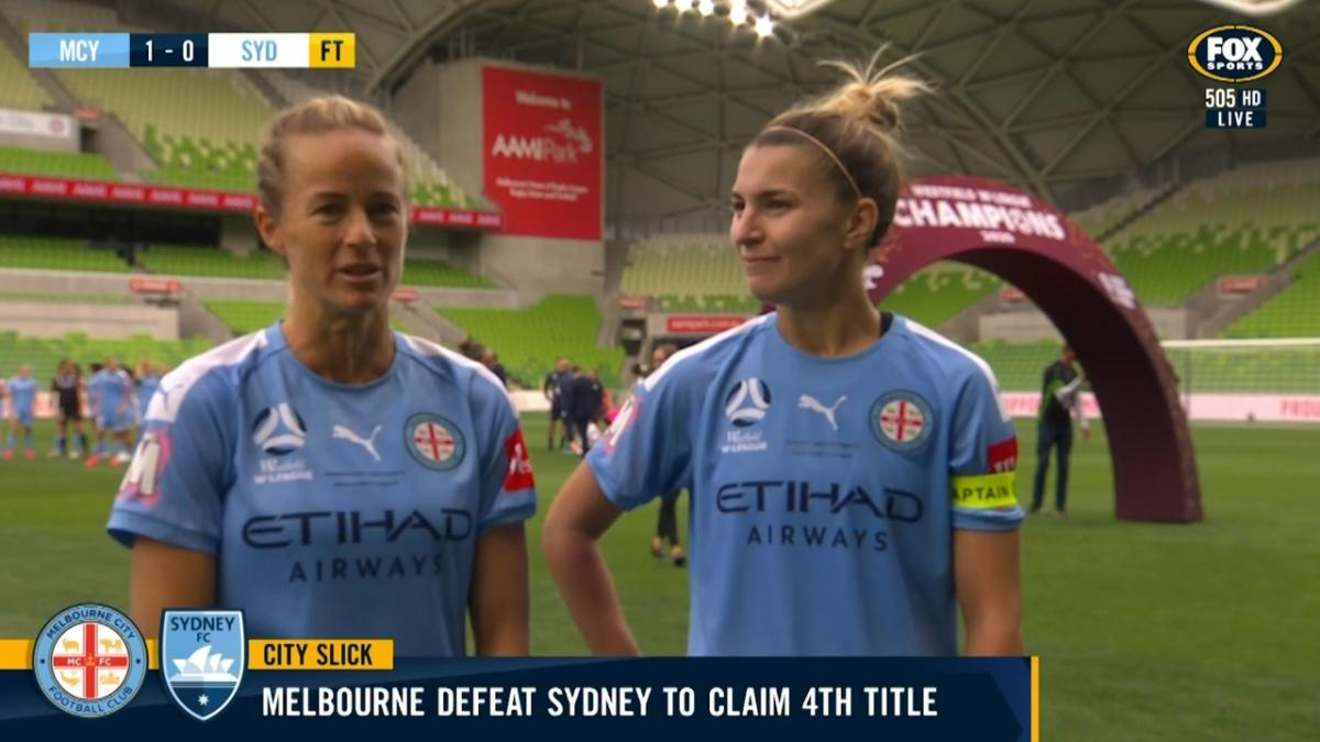 Stephanie Catley and Aivi Luik | Interview | Westfield W-League
