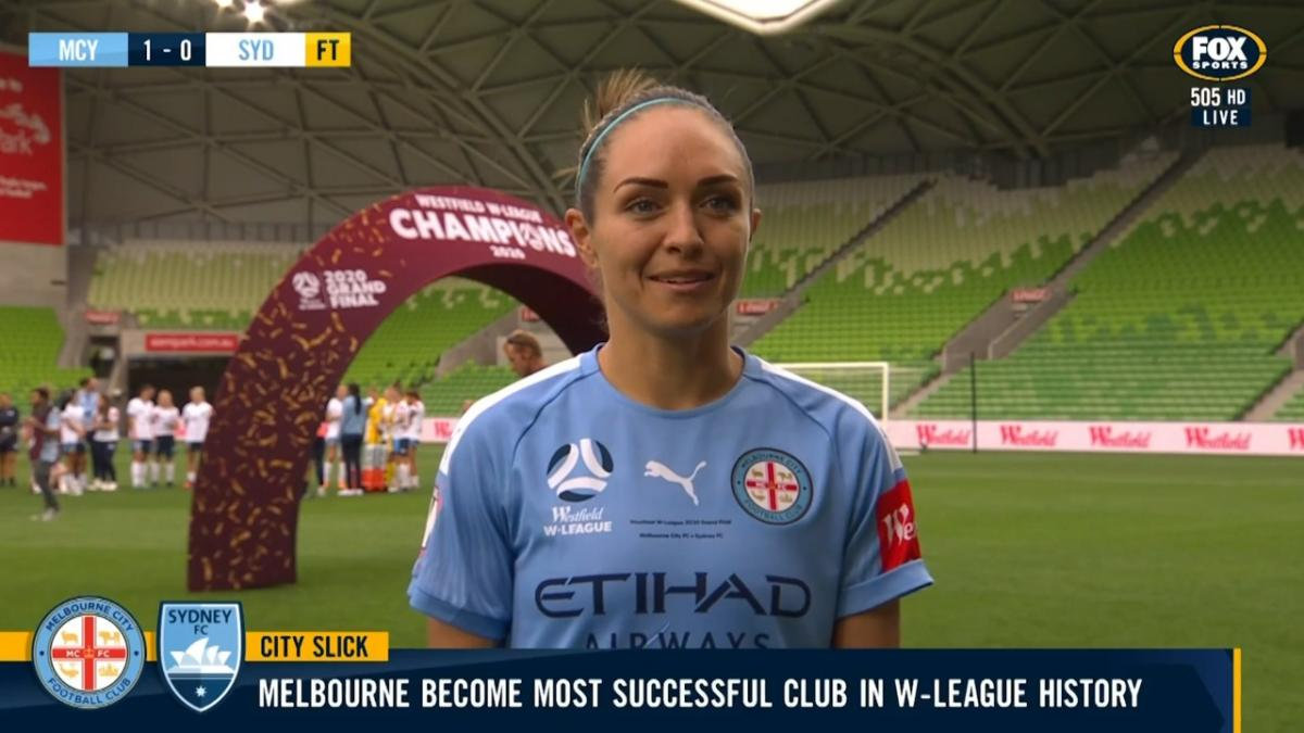 Simon: This made up for my injuries last season | Interview | Westfield W-League