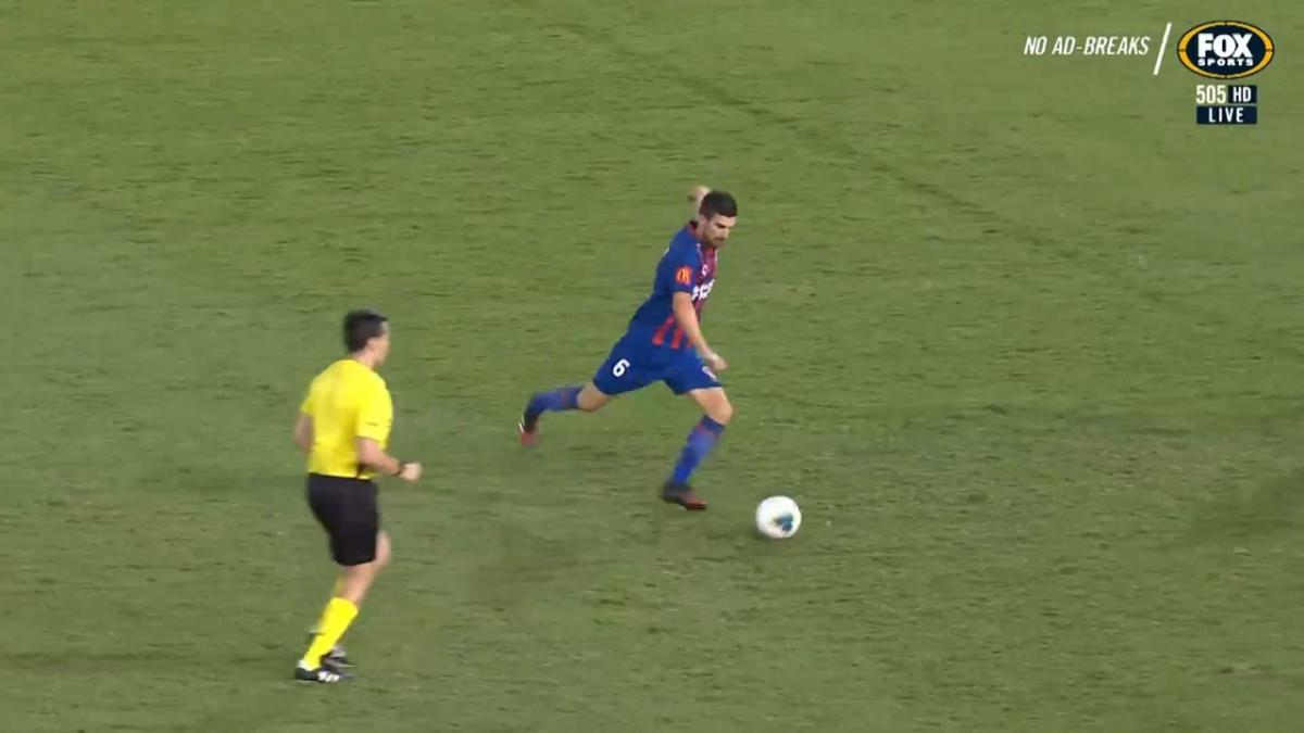 GOAL: Ugarkovic - The midfielder with a pile-driver