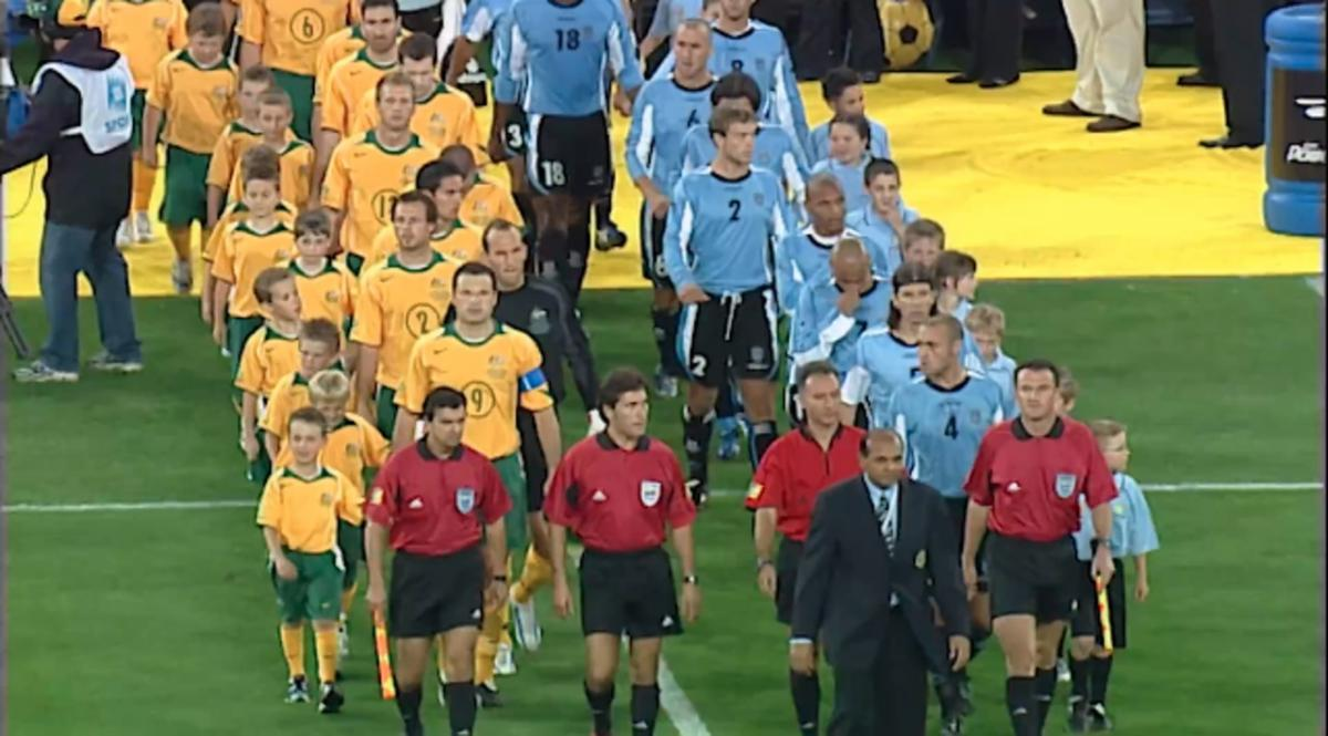 Mini Match: Socceroos v Uruguay in FIFA World Cup 2006 Play-Off