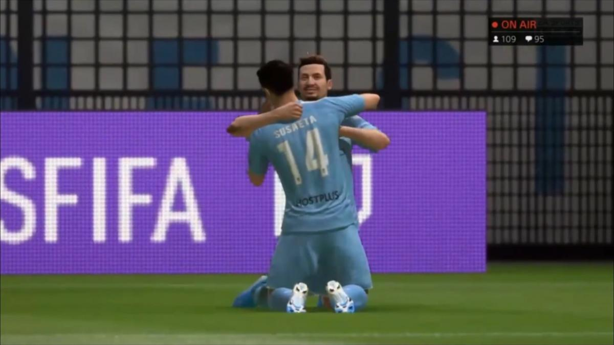 Highlights: Nathaniel Atkinson v Giancarlo Gallifuoco | FIFA 20 Tournament | Match 1