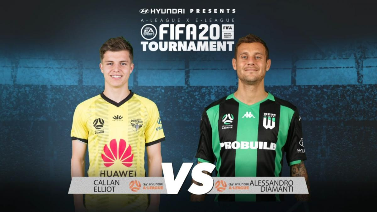 Callan Elliot v Alessandro Diamanti | FIFA 20 Tournament | Match 4