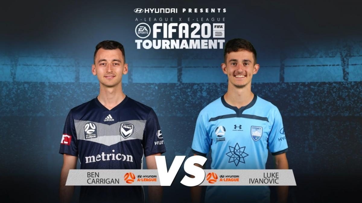 Ben Carrigan v Luke Ivanovic | FIFA 20 Tournament | Match 7