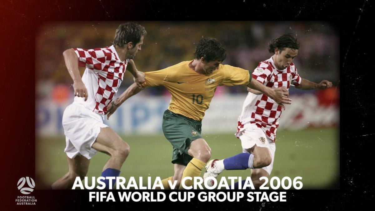 Harry Kewell talks through crucial Croatia goal at FIFA World Cup 2006