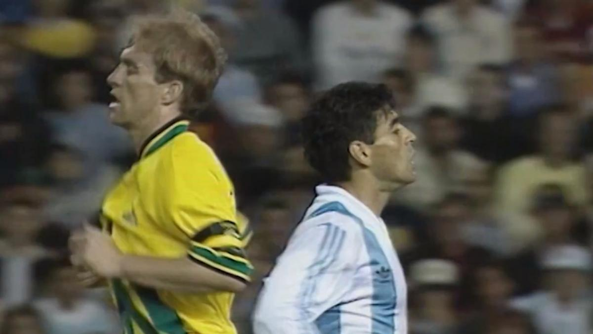 Teaser: Marking Maradona featuring Paul Wade