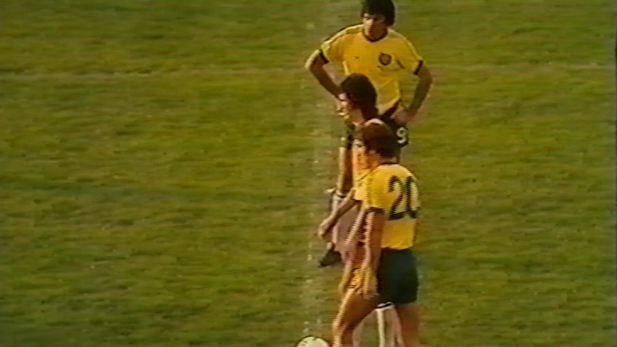 Socceroos' first FIFA World Cup match in 1974 v East Germany