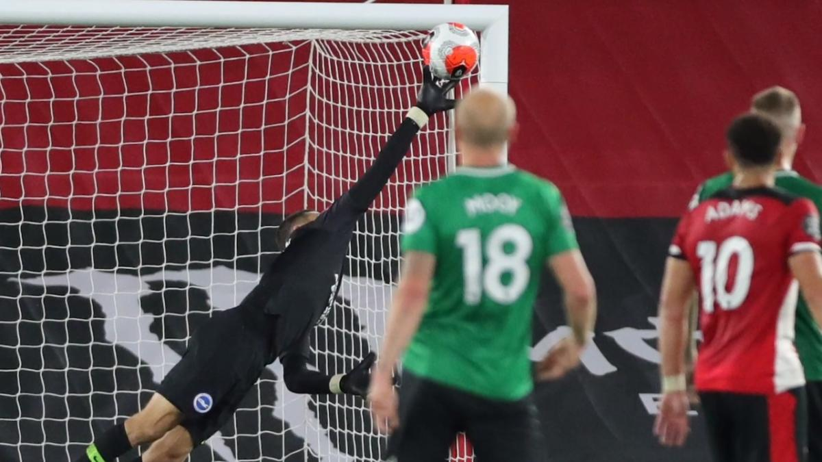 Danny Vukovic's praises Mat Ryan & incredible save v Southampton