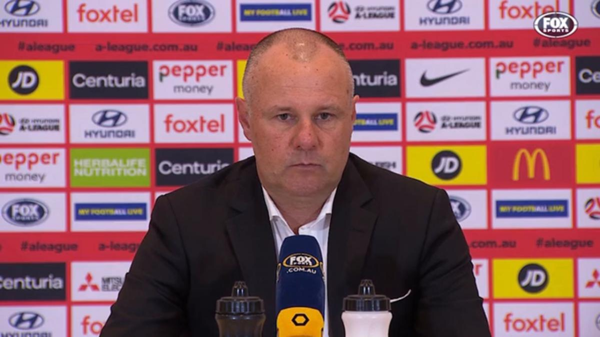 de Marigny: There was only one team in it | Press Conference | Hyundai A-League