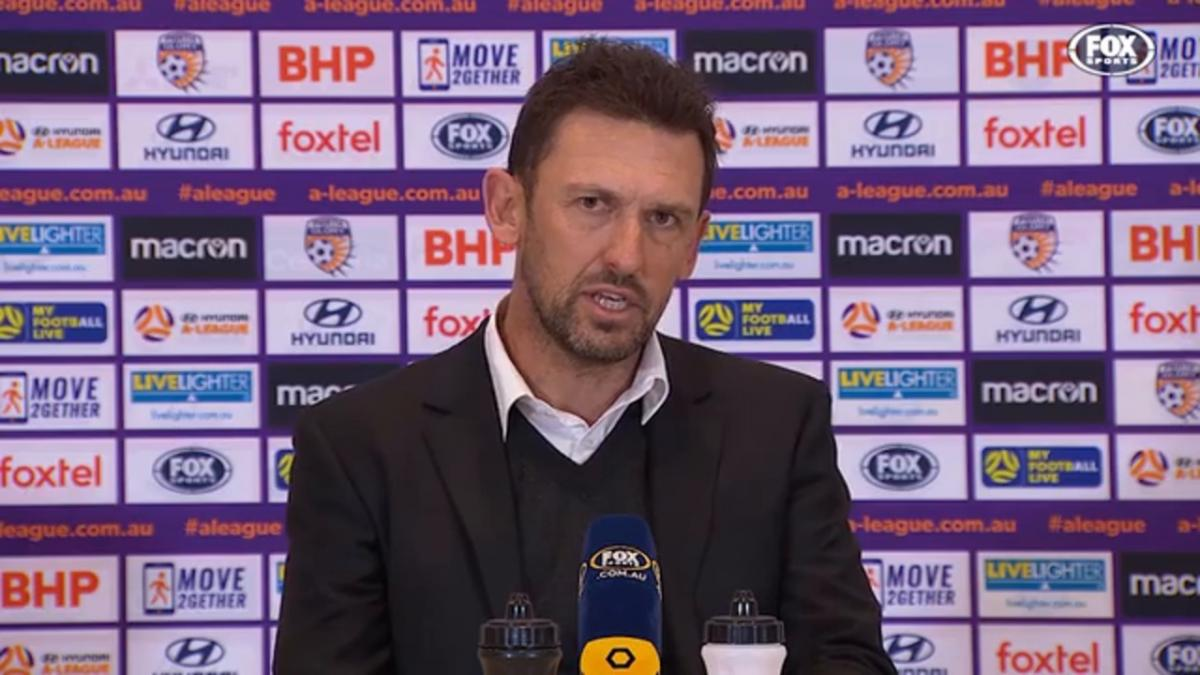 Popovic: At 1-1, it was our true test | Press Conference | Hyundai A-League