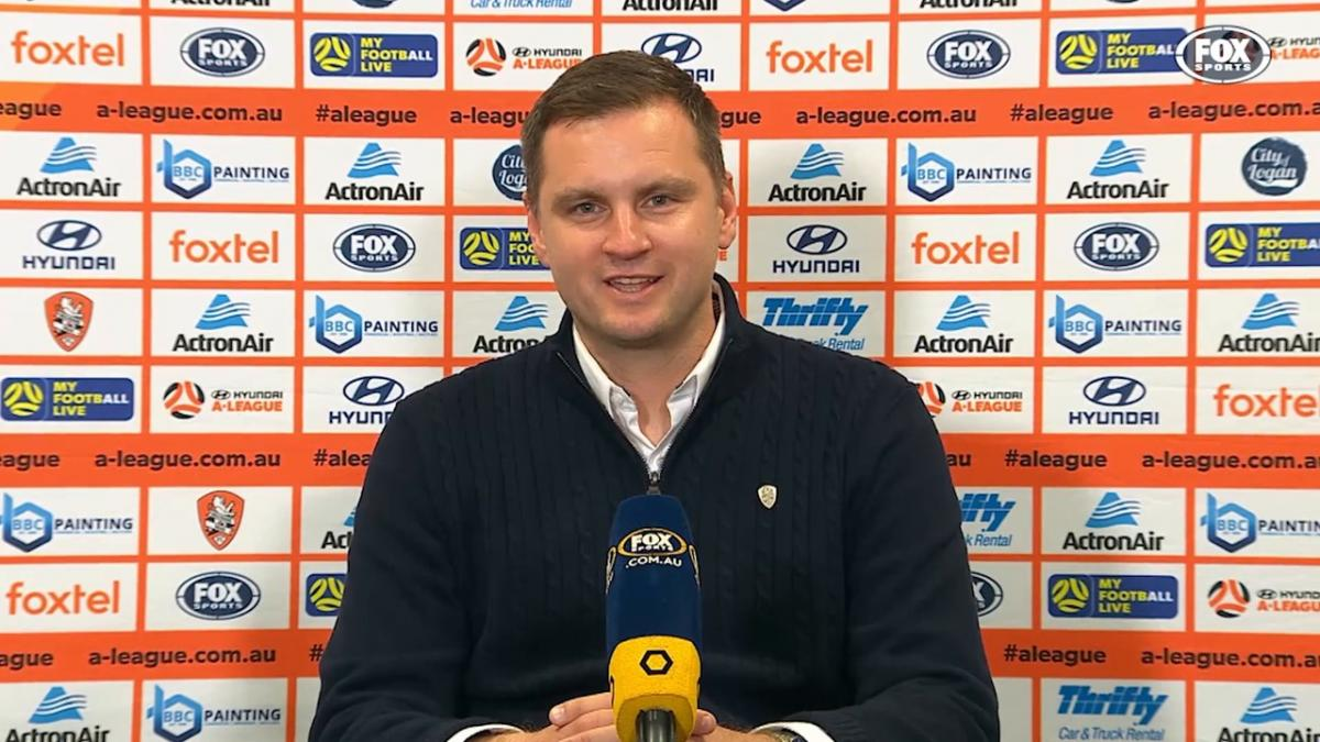 Moon: We're lucky to have Jamie | Press Conference | Hyundai A-League