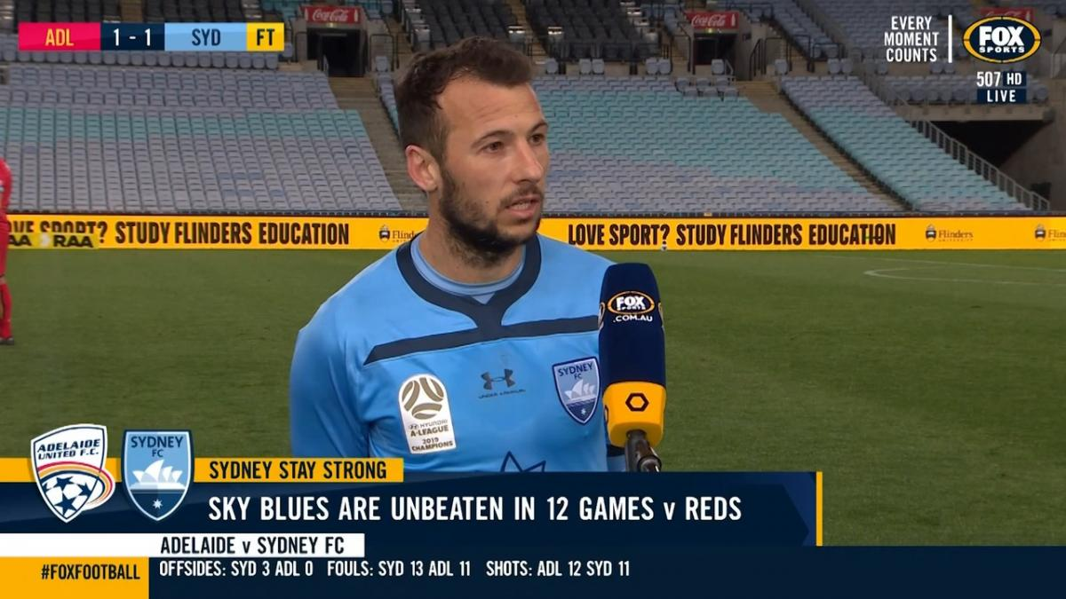 Le Fondre: Tonight we had to show our dominance | Interview | Hyundai A-League