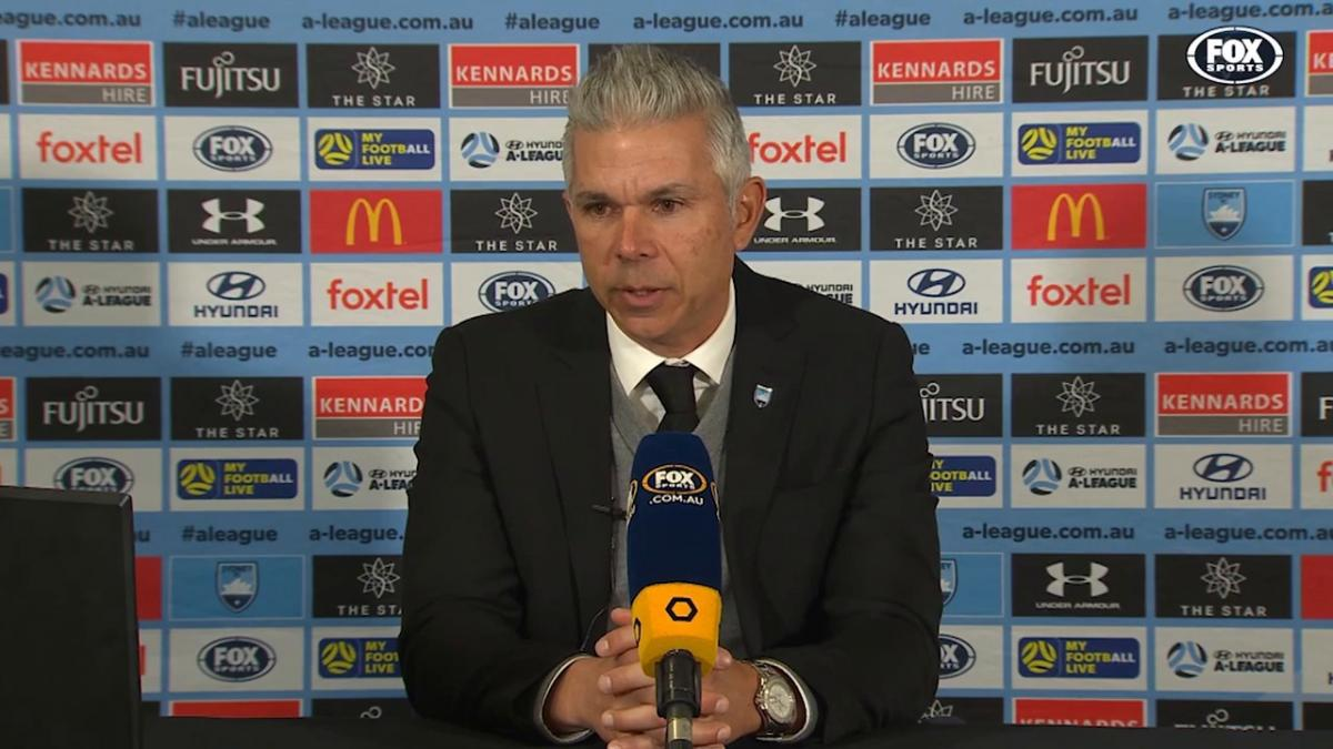 Corica: Harry was great tonight | Press Conference | Hyundai A-League