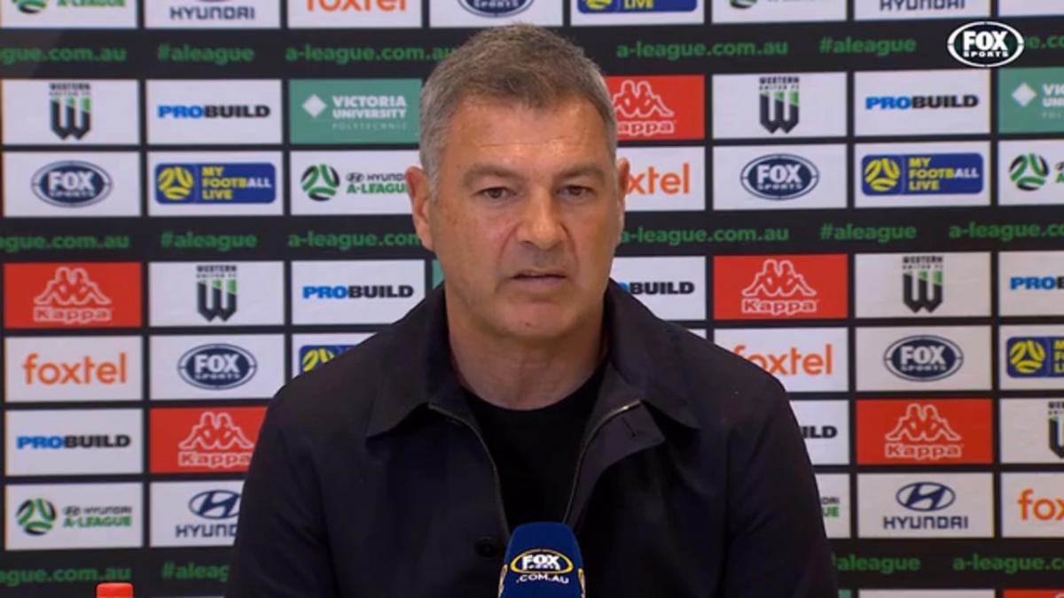 Rudan: This is a great first chapter   Press Conference   Hyundai A-League