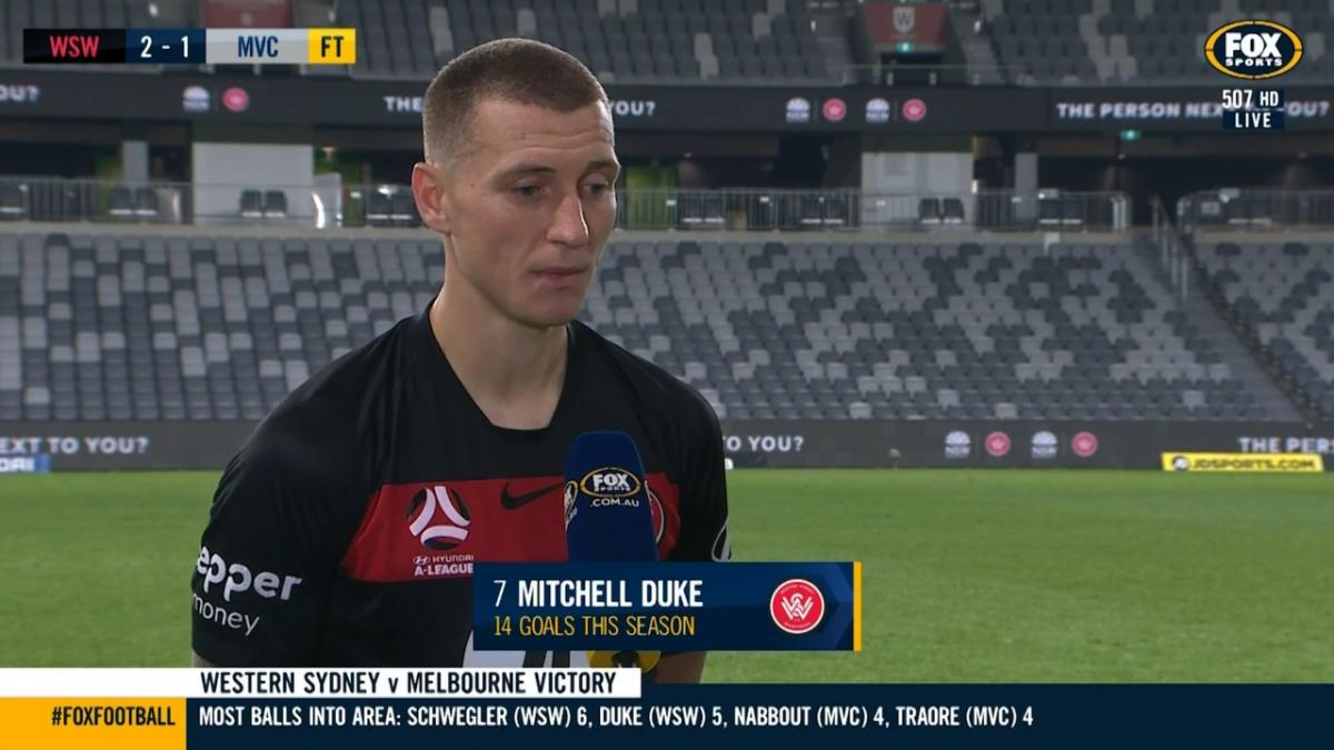 Duke: I will miss the club and where I grew up  | Interview | Hyundai A-League