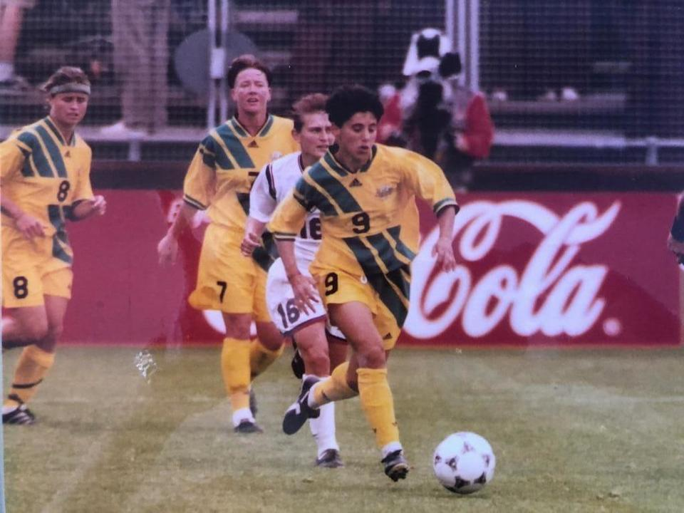 Angela Iannotta - 1995 FIFA Women's World Cup