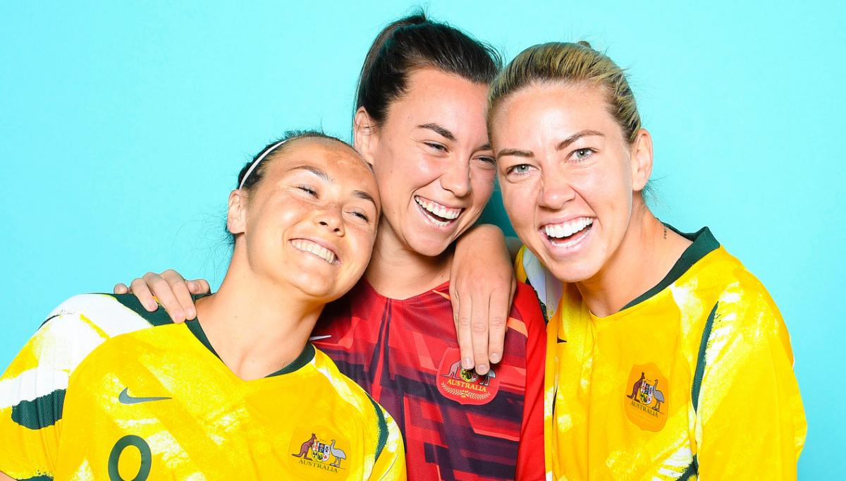 Westfield Matildas Zoom Sessions: The best of friends