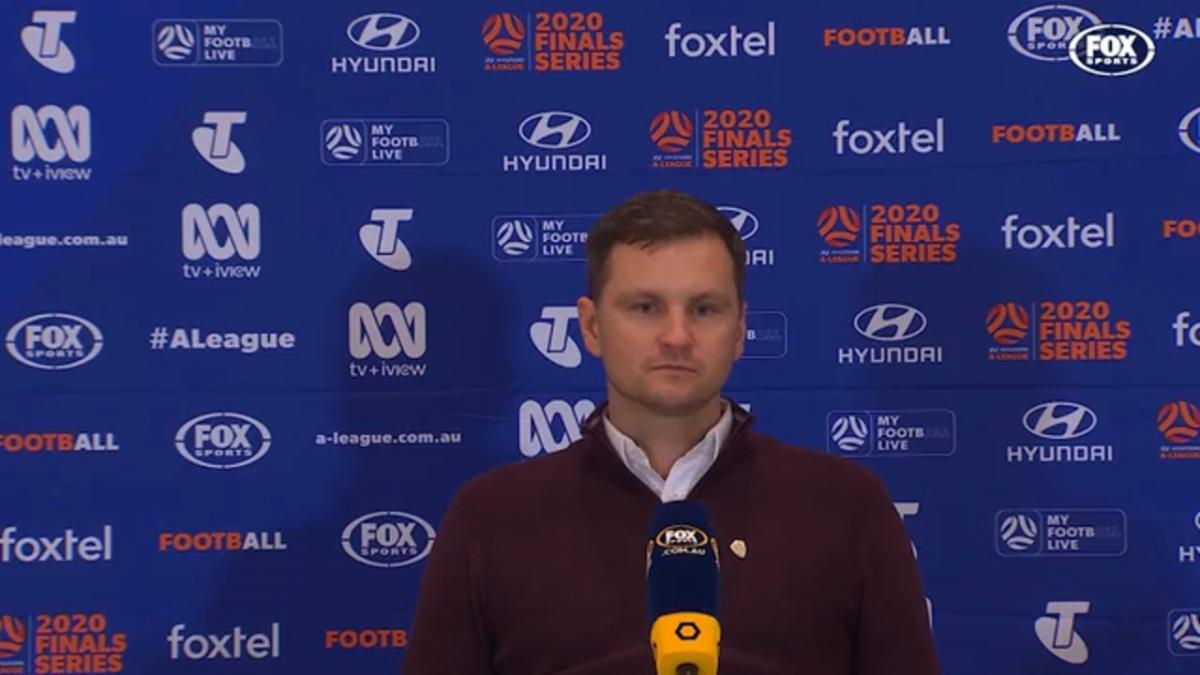 Moon: We were in the Semis on another night | Press Conference | Hyundai A-League