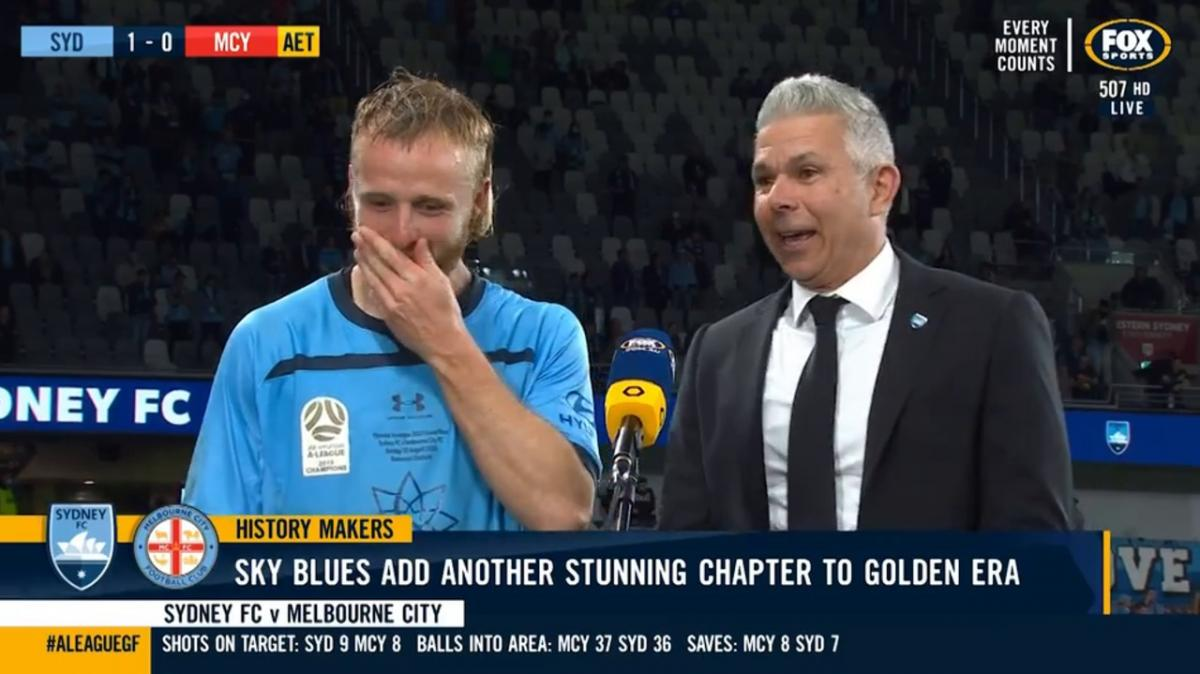 Grant: I got a little lucky with the goal | Interview | Hyundai A-League