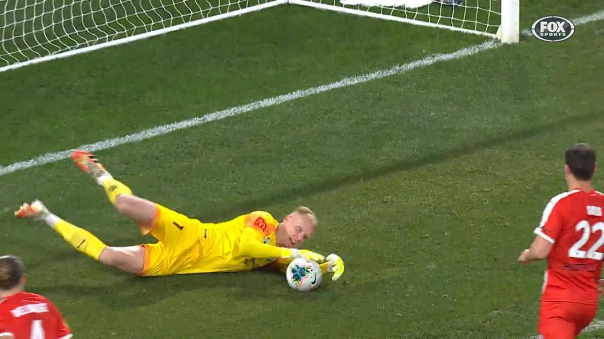 Australia U-23's Tom Glover's saves in Hyundai A-League 2020 Grand Final