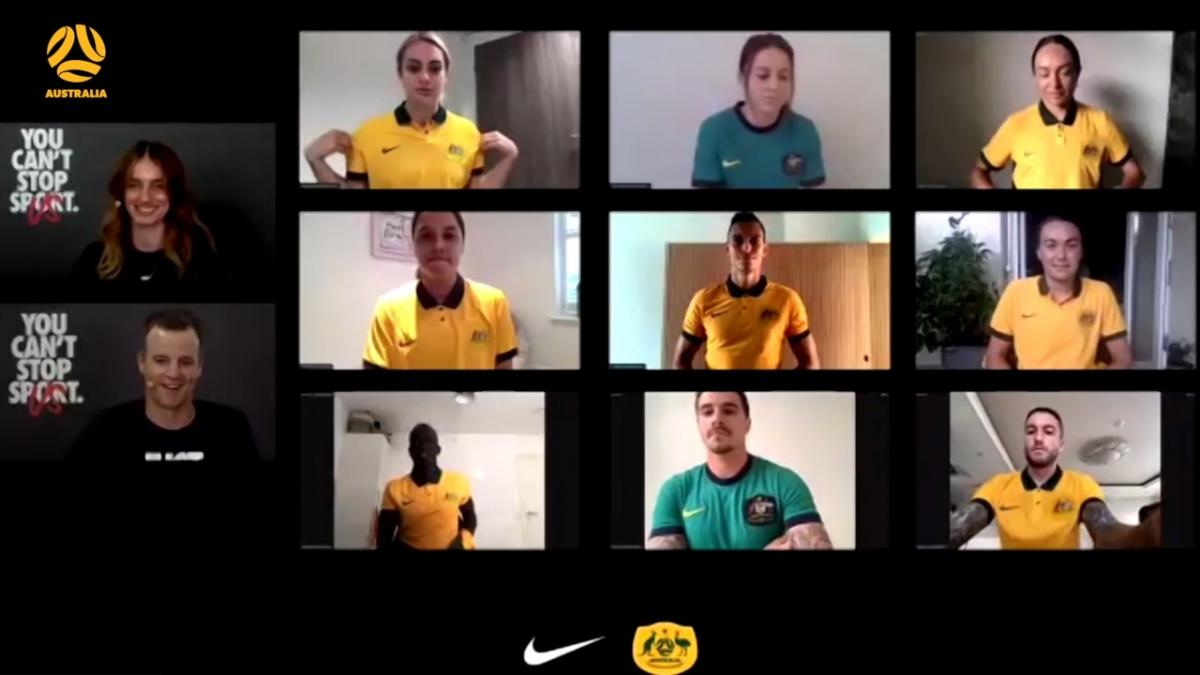 New Socceroos Nike kit reveal