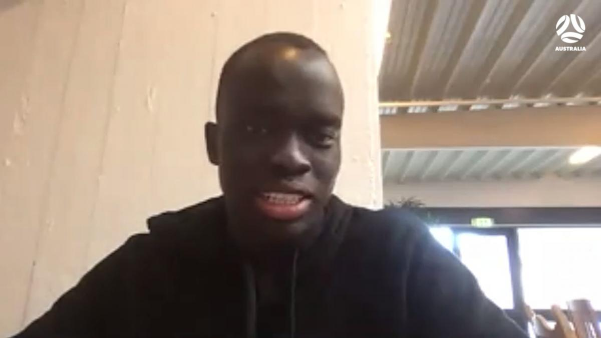 Awer Mabil previews UEFA Champions League campaign