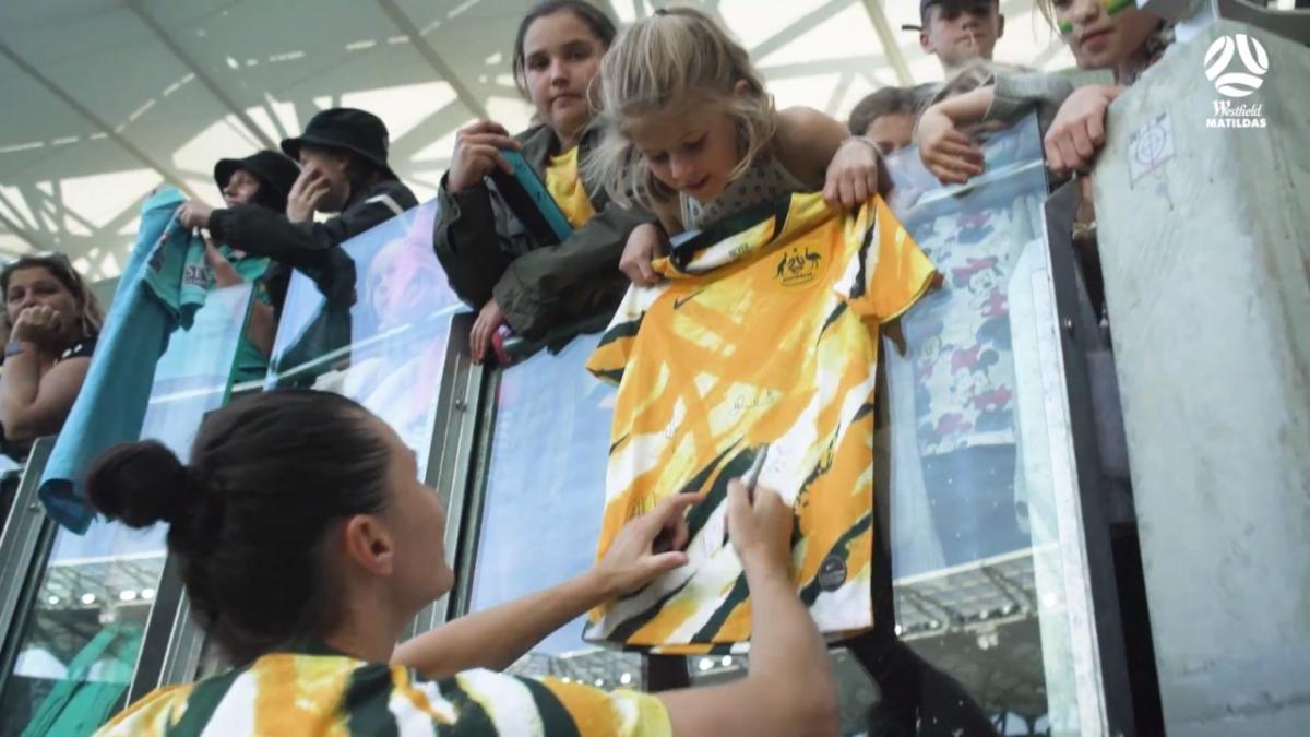 Westfield Matildas pack out Bankwest Stadium