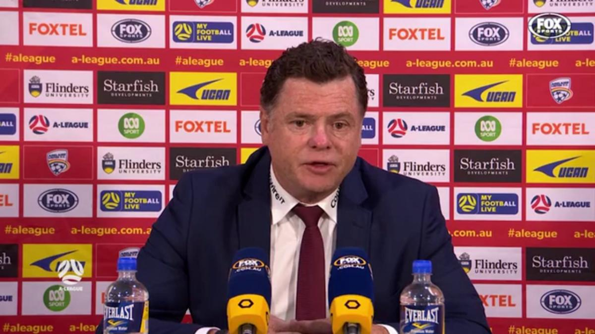 Veart: The fans lifted us in the second half | Press Conference | A-League