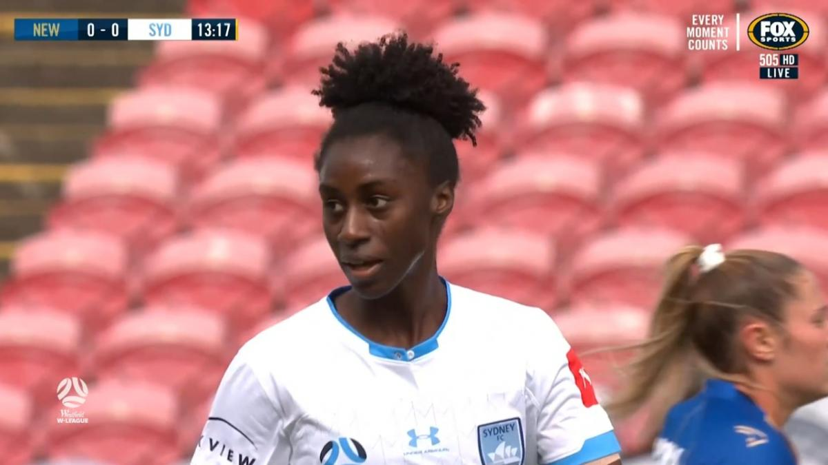 CHANCE: Ibini - Sky Blues trying from distance