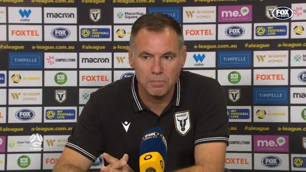 Milicic: It's going to take time | Press Conference | A-League