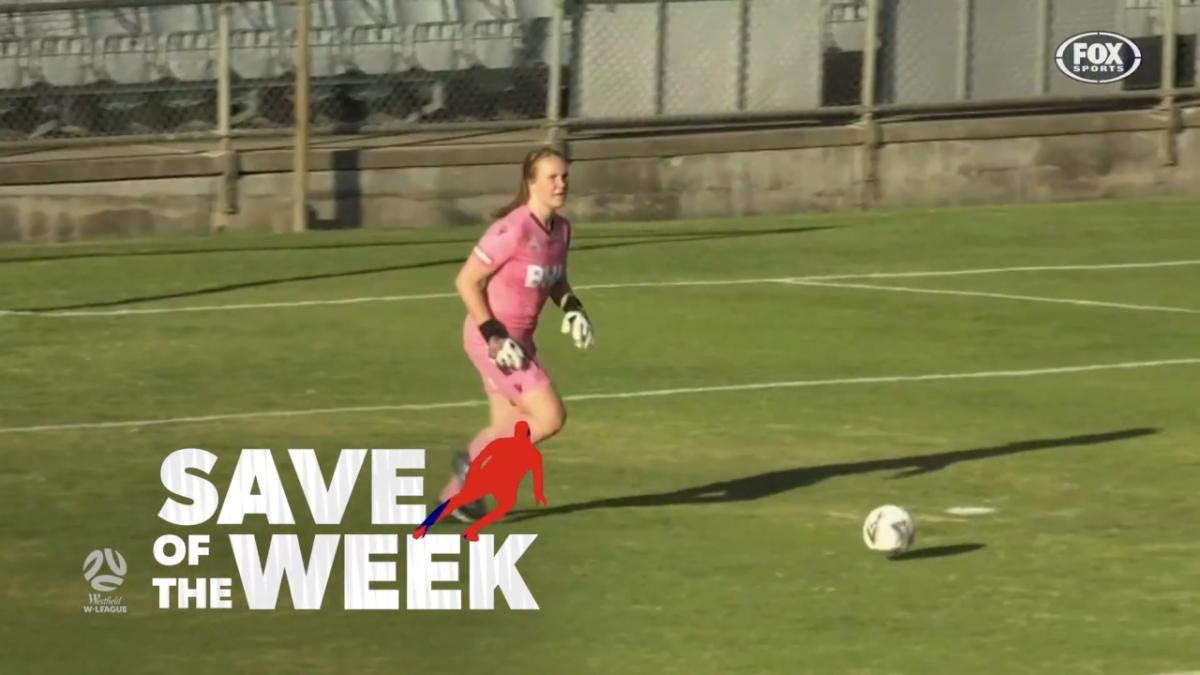 Save of the Week: Lilly Alfeld | Westfield W-League Round 3
