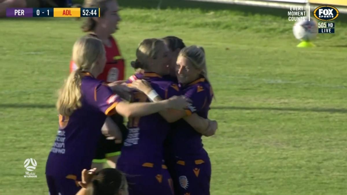 GOAL: Doeglas - Glory equalise with some one-touch-play