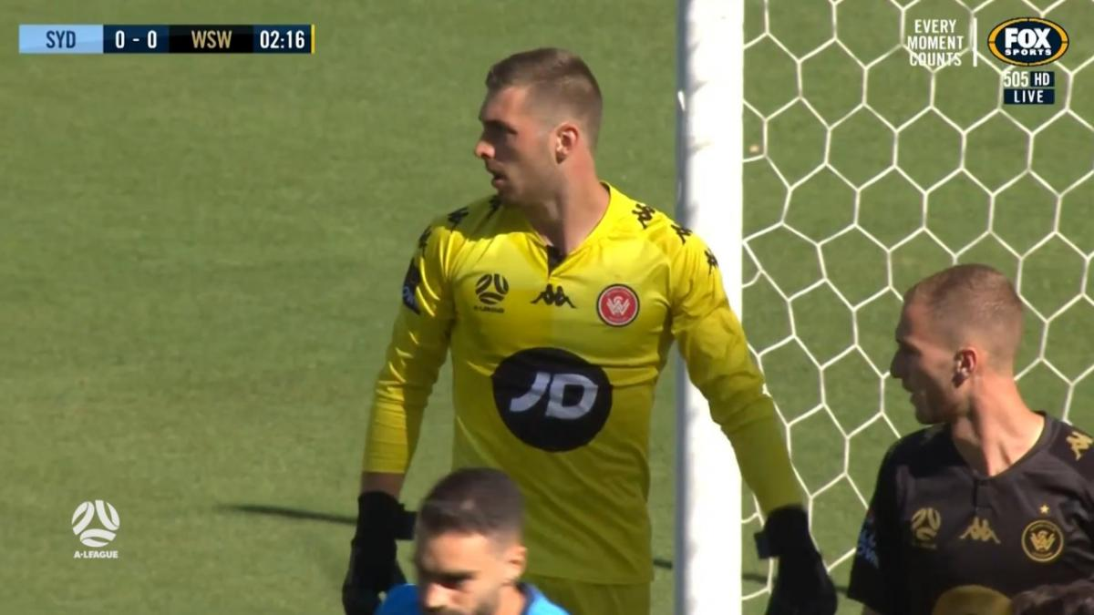 SAVE: Margush - Western Sydney keeper busy from the get-go