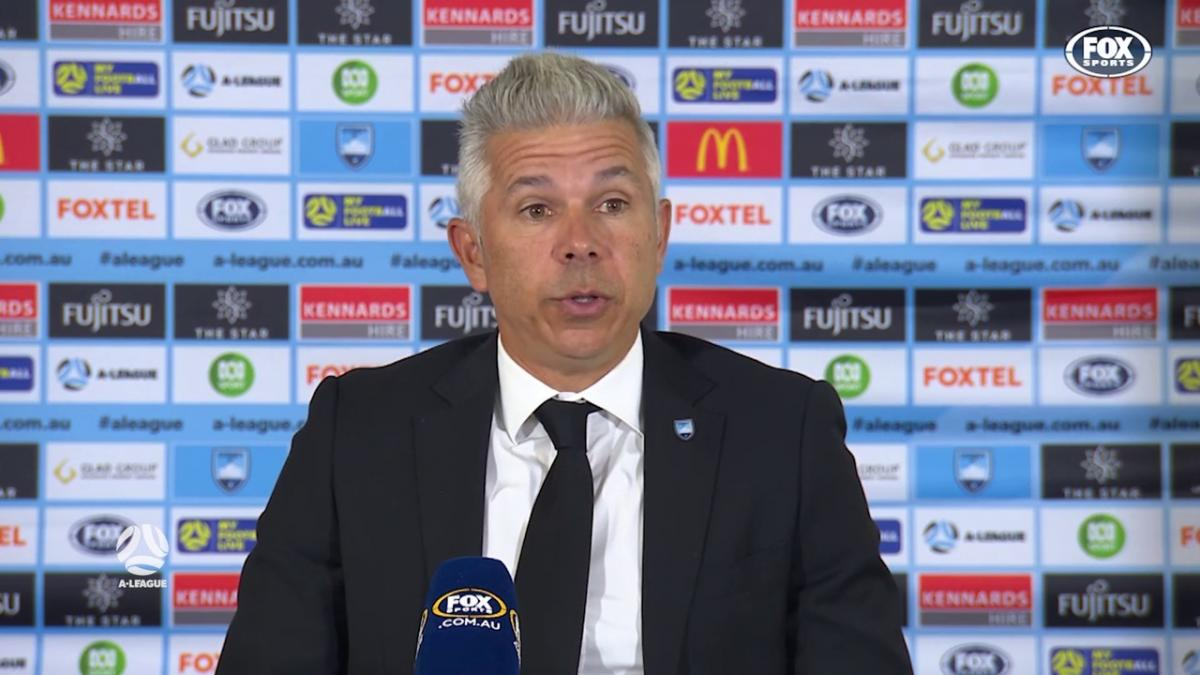 Corica: Their goal should be the real debate | Press Conference | A-League
