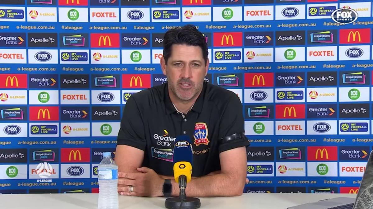 Deans: The handball rule is too confusing for me | Press Conference | A-League