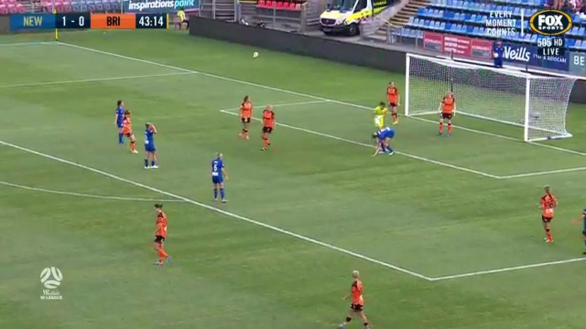 Newcastle Jets v Brisbane Roar | Highlights | Westfield W-League