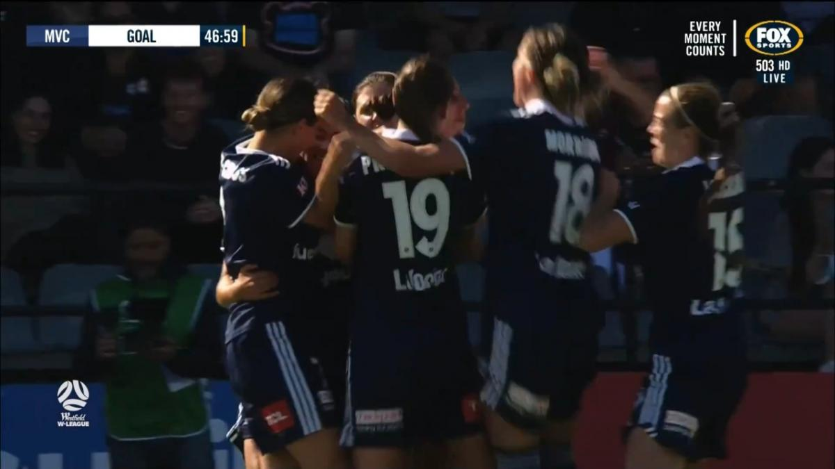 Goal of the Week: MelindaJ Barbieri | Westfield W-League Round 3